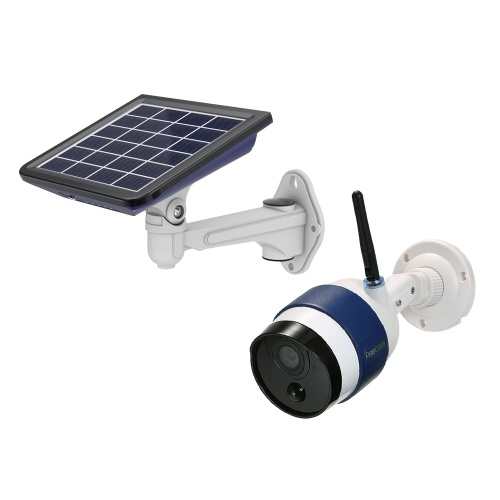 FREECAM Wireless HD 720P WiFi Solar Powered WiFi Camera Motion-Activated Bullet IP Security Camera ​