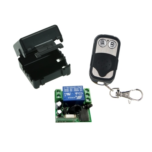 Smart Home Wireless Remote Control  Relay Receiver Transmitter Universal Switch