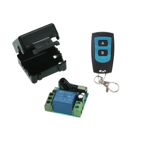 ワイヤレスリモートスイッチリレーレシーバと1PCS RFトランスミッタリモートコントロール