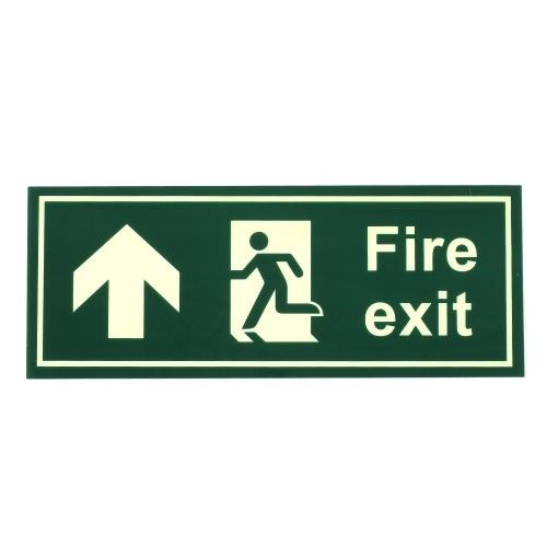 Señal de salida de seguridad contra incendios Orientación de advertencia Señalización Luminoso