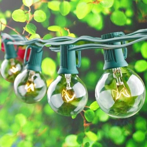 Lâmpada de vidro Garden Yard Fence Lâmpada Goble quente