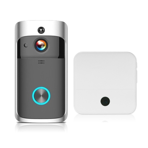 HD 720P WiFi Smart Security DoorBell with 1pcs Doorbell Chime