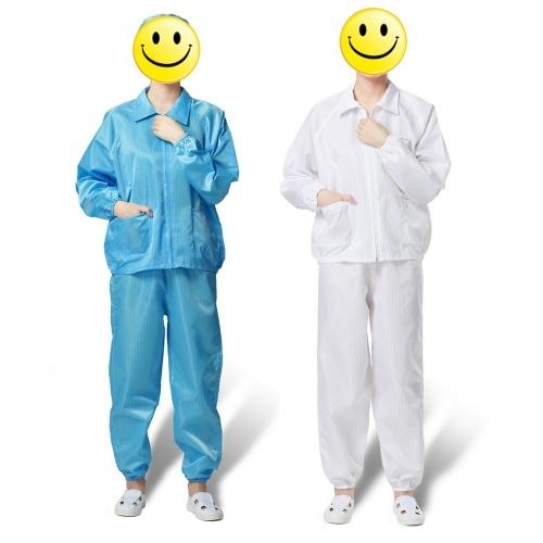 Eine Klage der Fabrik Antistatische Sicherheit Staubdichte Kleidung Arbeitskleidung Reinraum Schutzanzug für Lebensmittelgeschäft Medizinische Farbspritzarbeiter