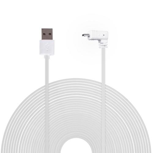 Погодостойкий силовой кабель длиной 6 м / 20 футов, белый