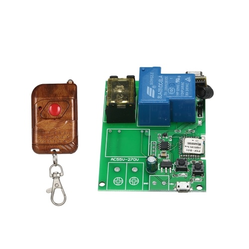 Modulo switch wireless Sonoff USB DC5V 30A RF 433 MHz Wifi