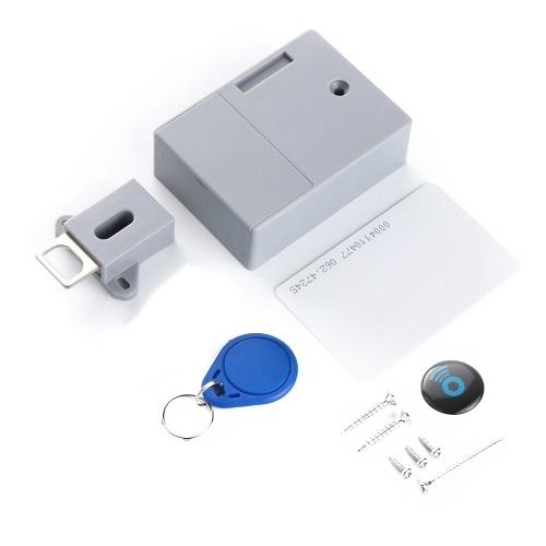 Battery RFID IC Card Sensor Cabinet Drawer Intelligent Smart Lock