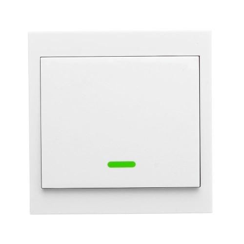 Interruptor Inteligente RF Interruptor Remoto sem fio para Casa Sala de estar Quarto 433 MHZ 86 Interruptores Do Painel De Parede