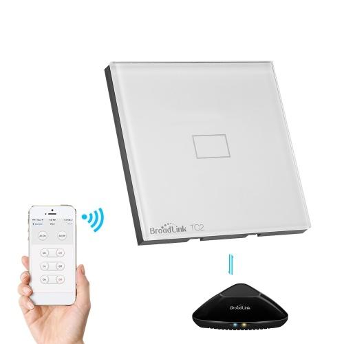 Broadlink TC2 UE / Royaume-Uni RF 433Mhz Interrupteur 1 / Interrupteur tactile