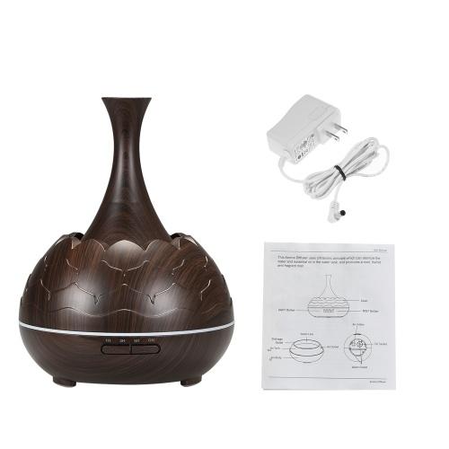 Diffuseur intelligent de nuit de la nuit LED 400ml d'humidificateur de diffuseur de brume d'aromatherapy d'huile essentielle