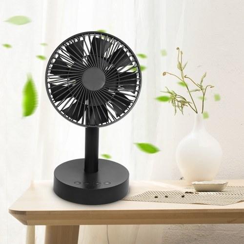 Ventilador de mesa oscilante giratorio (sin baterías)