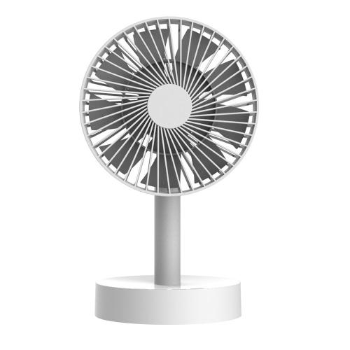 Вращающийся вентилятор с осциллирующим столом (без батарей)