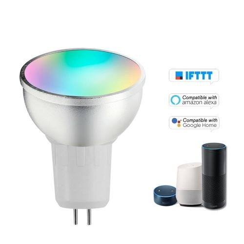 Lâmpada LED V18 Smart WIFI Lâmpada LED RGB + W