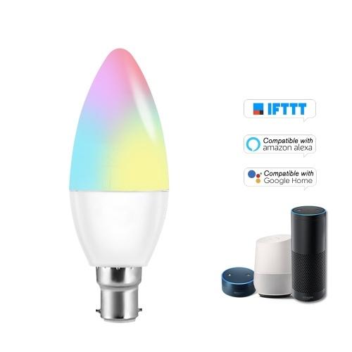 V16-C Smart WIFI LED Bulb RGB+W LED Candle Bulb