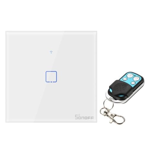 SONOFF T1EU1C-TX 1 Gang Smart WiFi Wall Light Switch