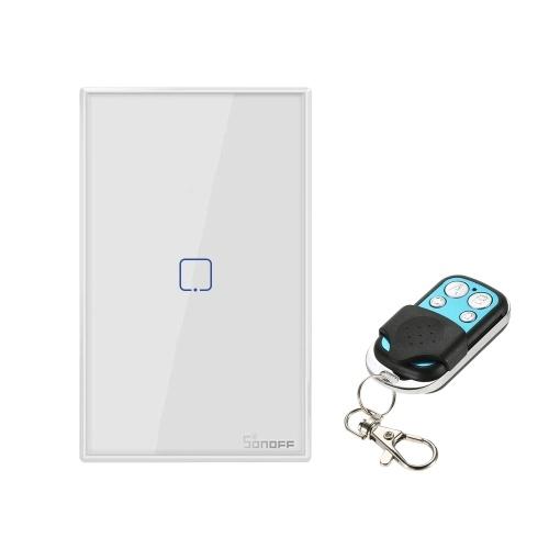 SONOFF T2US1C-TX 1 Gang Smart WiFi Wall Light Switch