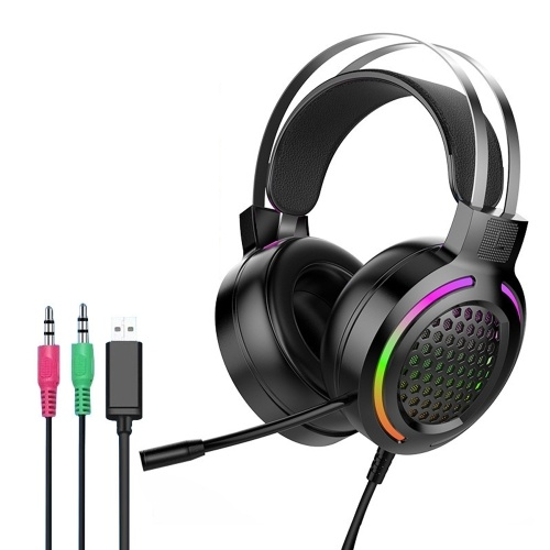 Gaming Headset Lightweight Computer Game Earphone