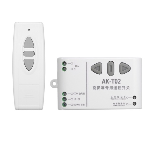 Interruptor de controle remoto sem fio do controlador remoto inteligente do motor doméstico