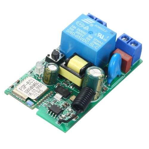 eWeLink DC5V / AC85-250V Wifi Switch RF 433MHz Módulo de relé sem fio Módulos de automação residencial inteligente