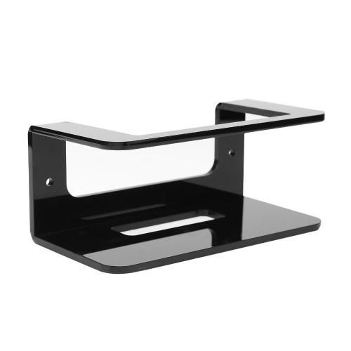 1 Packung Acryl-Wandhalterung, kompatibel mit NETGEAR Mesh WiFi 6 (MK62) Mesh Wifi Stand, schwarz