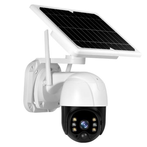 Solar Security Camera Outdoor 3MP Wireless WiFi Home Security Camera