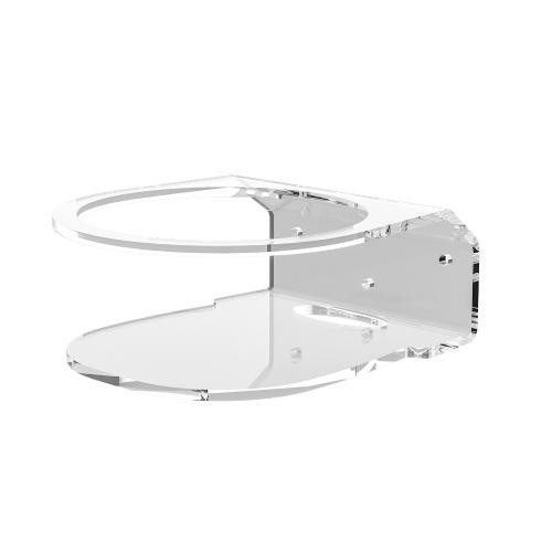 Paquete de 1 soporte de acrílico para montaje en pared compatible con Meshforce M7 Tri-Band, transparente
