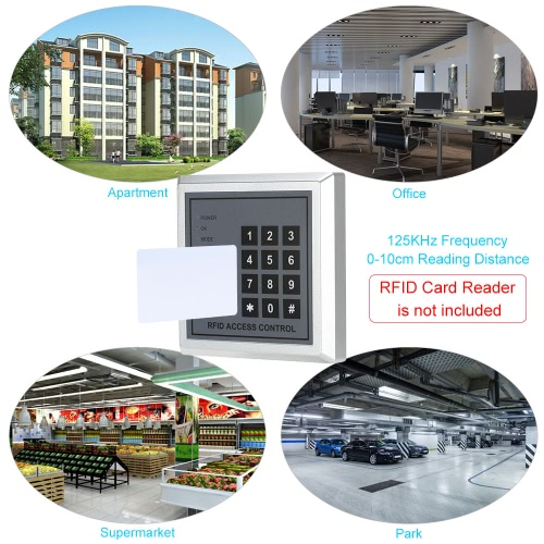 10pcs Writable RFID T5577 Smart EM Card 125KHz Proximity Door Control Entry Access