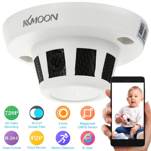 KKmoon H.264 HD 720P IR-CUT IP Camera Motion Detection CCTV Security Home Surveillance