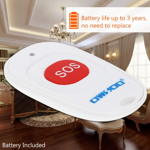 OWSOO SOS Wireless Emergency Call Button Home-Alarmsystem