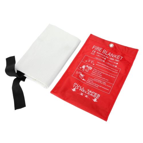 Fiberglas-Feuer-Decke-Feuer-flammhemmendes Notüberlebens-Feuer-Schutz-Sicherheitsabdeckung 59 * 59 Zoll