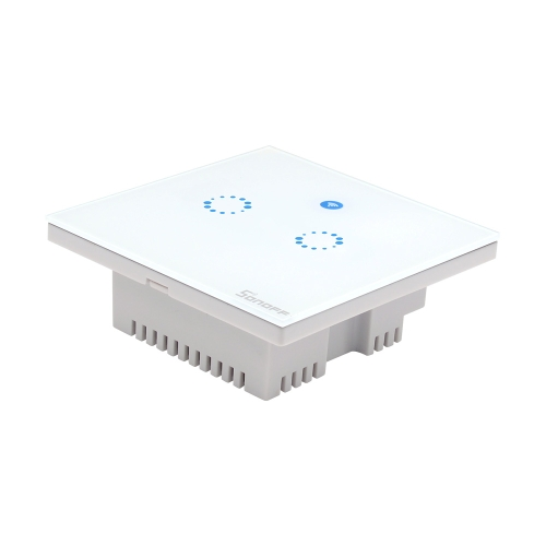 SONOFF T1 2 Gang Smart WiFi Wandleuchte UK Switch