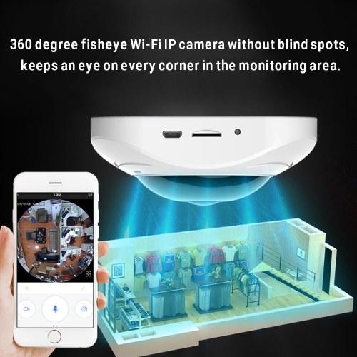 3D VR FIsheye Wireless Wi-fi Smart Camera 360 Degree Panoramic IP Camera