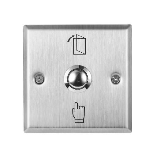 Interruptor de botão de saída de aço inoxidável