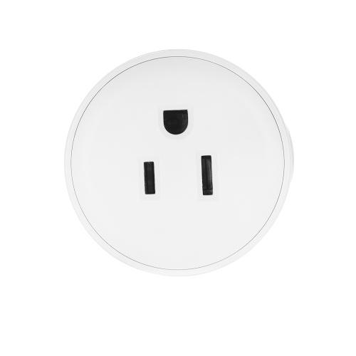 Mini Wifi Smart Socket mit Bulgy Ein / Aus-Taste Smart Alexa Outlet