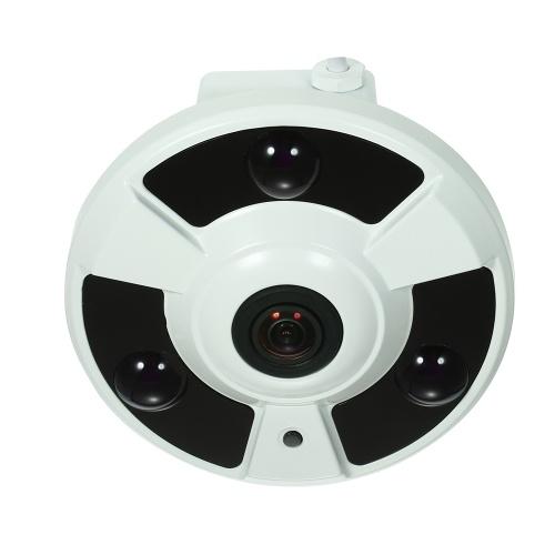 4MP HD 1.7mmフィッシュアイ180°パノラマIPカメラ