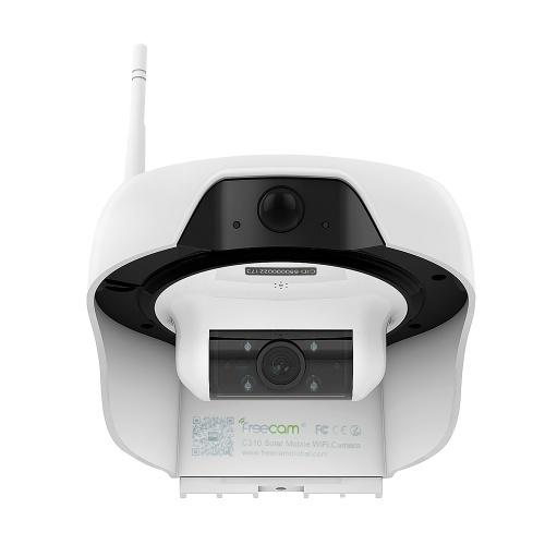 FREECAMワイヤレスHD 720PソーラーパワーWiFi IPカメラ