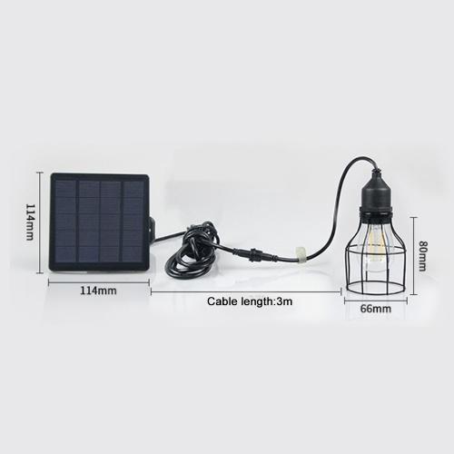 ソーラーライトペンダントランプ防水屋外風景ライト