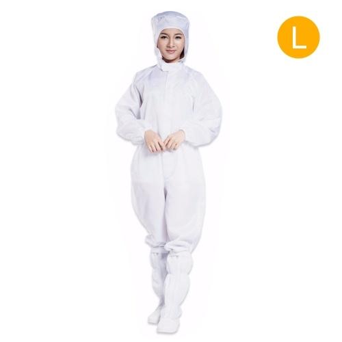 Macacão de proteção Macacão Roupas de trabalho antiestáticas Roupas de segurança Bodysuit completo anti-estático Proteção de segurança Ternos à prova de poeira