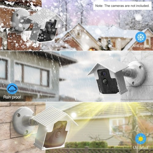 Wall Mount Bracket Kit for Blink XT Camera Weatherproof 360 Degree Protective Adjustable Indoor Outdoor Mount and Protection Cover for Blink XT Camera Anti Glare UV Camera Security System,White 2 Packs