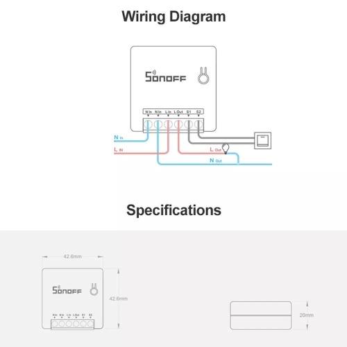 SONOFF Mini Two Way Intelligent Switch