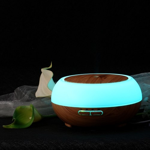 Smart Wifi Wireless LED Night Lamp 400ml Humidifier Essential Oil Aromatherapy Mist Diffuser фото