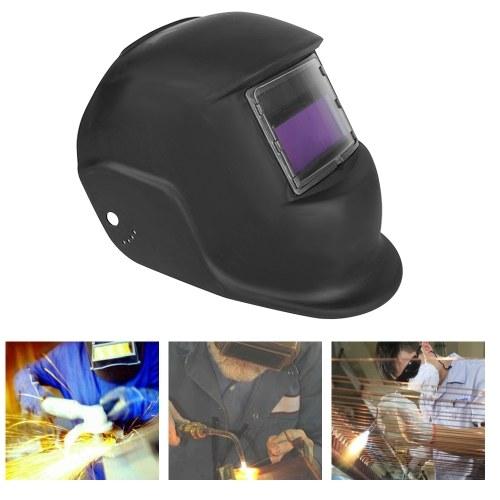 Maschera / casco / cappuccio del saldatore per oscuramento automatico di energia solare