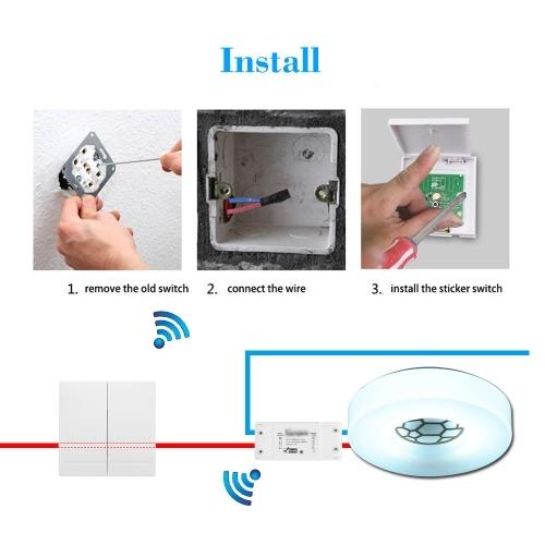 Other eWeLink Botón pulsador Aplique de