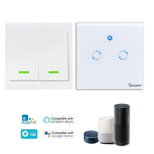 SONOFF T1 1 Gang Smart WiFi Interruptor de luz de pared
