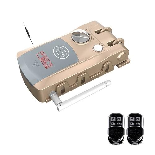 Télécommande invisible pour serrure de porte