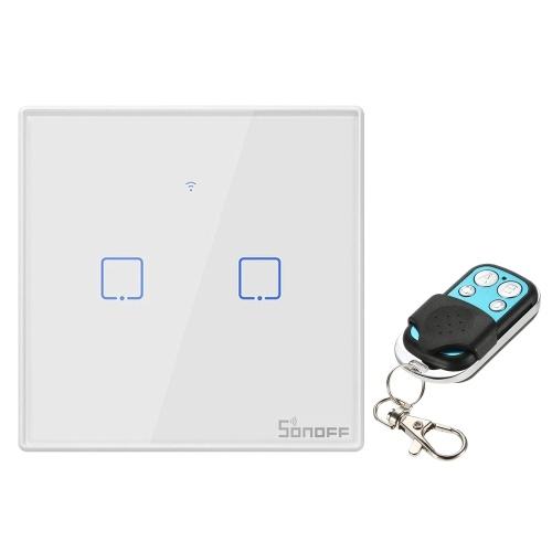 SONOFF T2UK1C-TX 1 Gang Smart WiFi Wall Light Switch