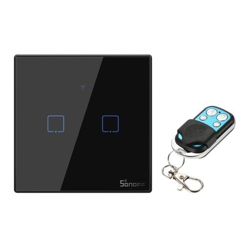 SONOFF T3EU1C-TX 1 Gang Smart WiFi Wall Light Switch