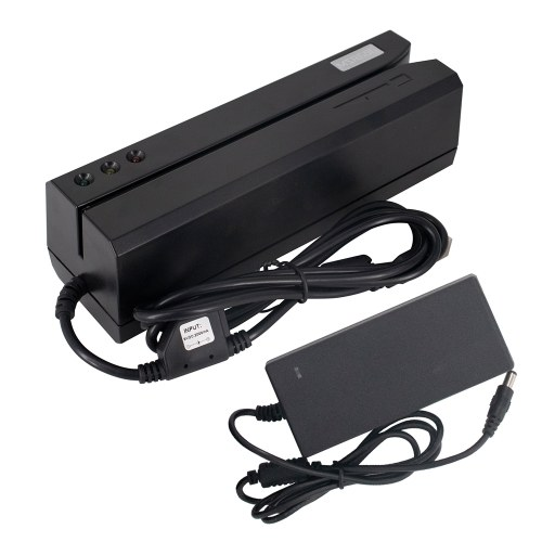 Magnetic Card Reader MSRE206 Writer Encoder Swipe USB Interface Black