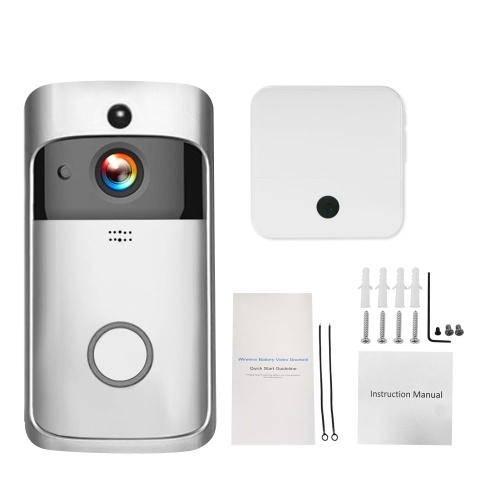 Smart HD 720P Wireless Video Intercom WI-FI Video Door Phone Visual Door Bell