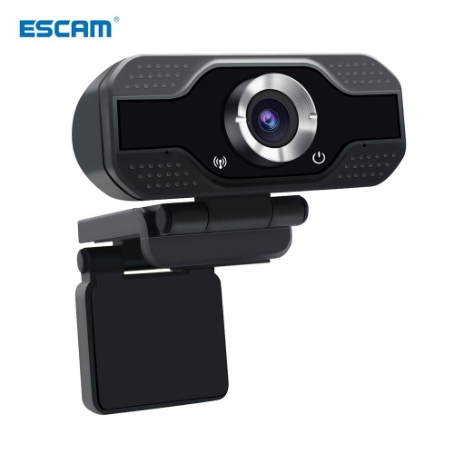 Webcam com Microfone HD 1080P Computador Webcams USB