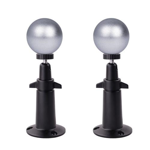 Soporte de pared de bola magnética 2PCS para Arlo HD, Arlo Pro, cámara de seguridad Arlo Pro 2 Arlo Go, negro
